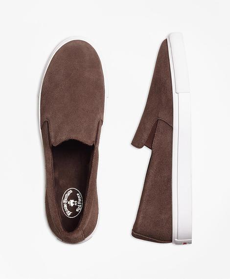 Erkek kahverengi red fleece süet ayakkabı