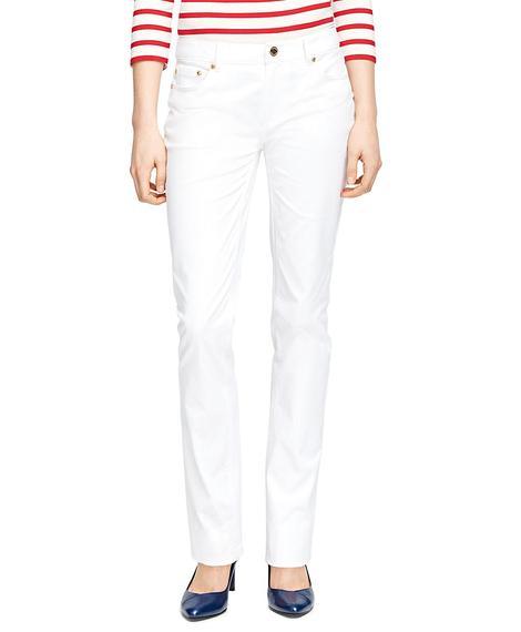 Kadın krem 5 cep pantolon