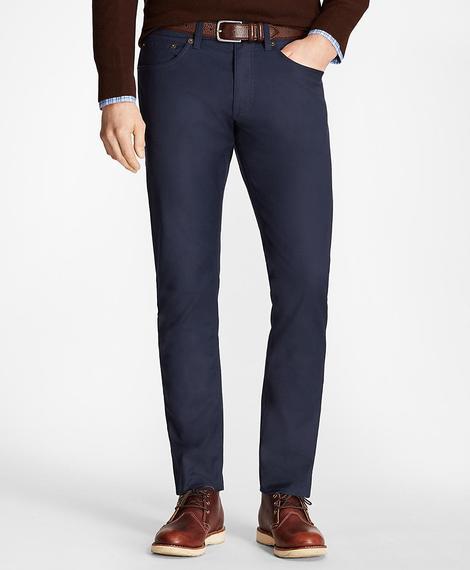 Erkek lacivert beş cepli pantolon