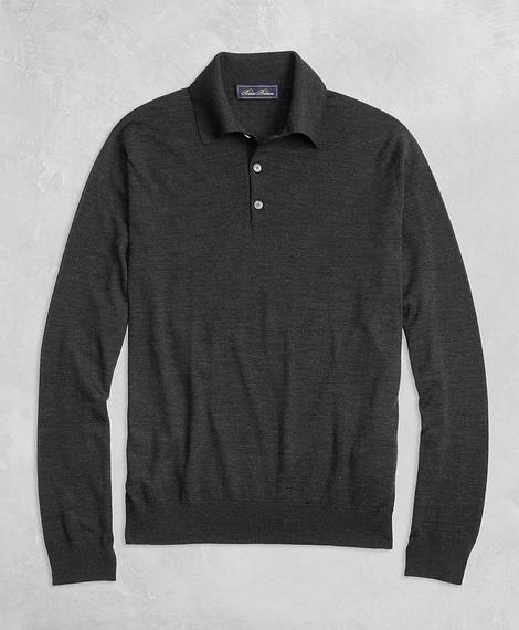 SWT GF LUX WL POLO Charcoal Hthr