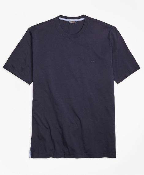 Erkek lacivert supima t-shirt