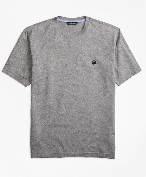 KNT ML SUPIMA T-Shirt LtGreyHthr