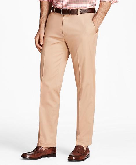 Erkek açık bej milano kesim chino pantolon