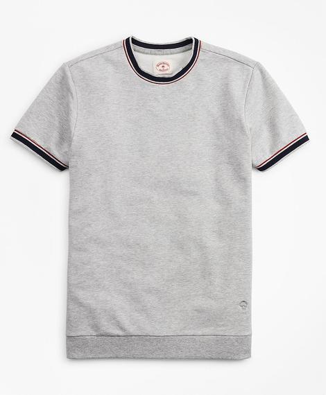 Erkek gri kısa kollu t-shirt