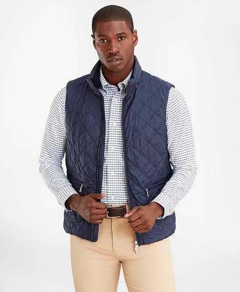 OUT ML Quilted Vest Mood Indigo