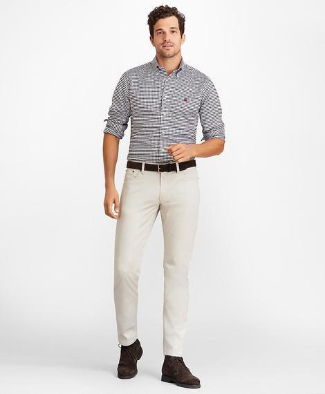 Erkek bej beş cepli chino pantolon