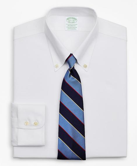Erkek beyaz non-iron gömlek