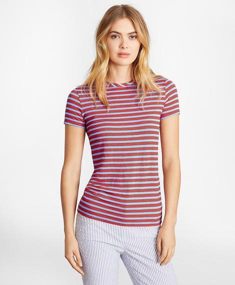 Kadın kırmızı t-shirt
