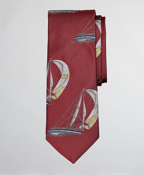 Erkek kırmızı desenli kravat