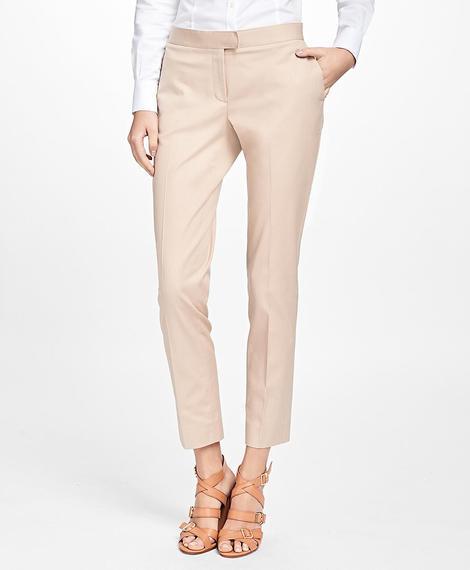 Kadın taba chino pantolon