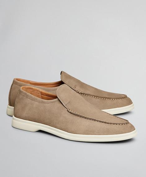 Erkek bej sneaker ayakkabı