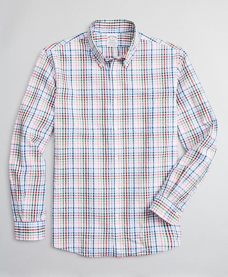 Erkek çok renkli regent kesim gömlek