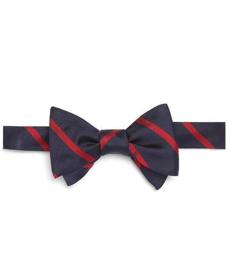 TIE REPP BOW BB3 Nvy/Red
