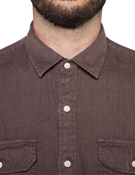 Camicia GARMENT DYED LINEN