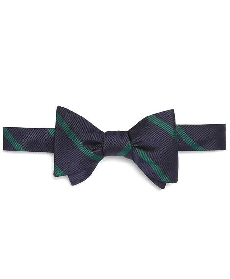 NVY/YEL BB#3 STRP BOW