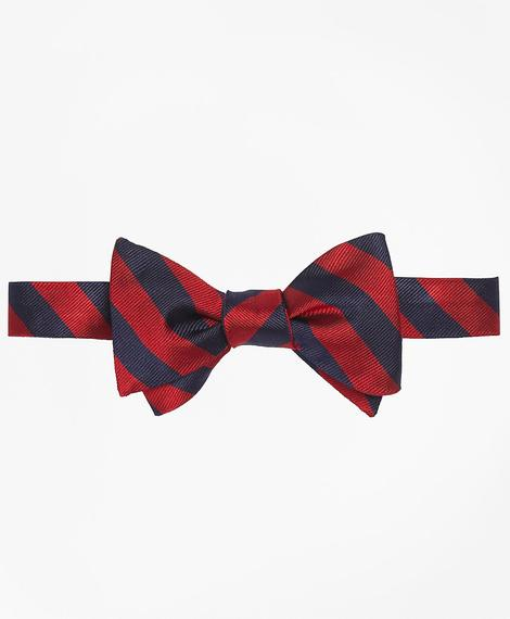 TIE REPP BOW BB4 Red/Nvy