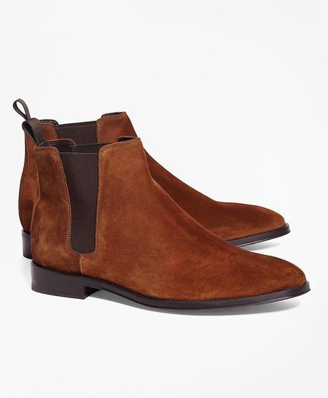 Erkek kahverengi deri klasik ayakkabı