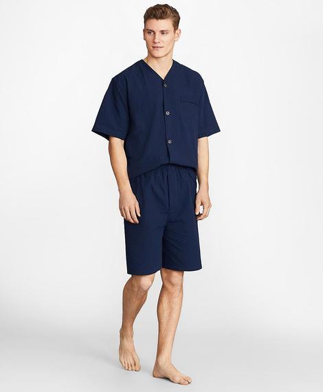 Erkek lacivert pijama